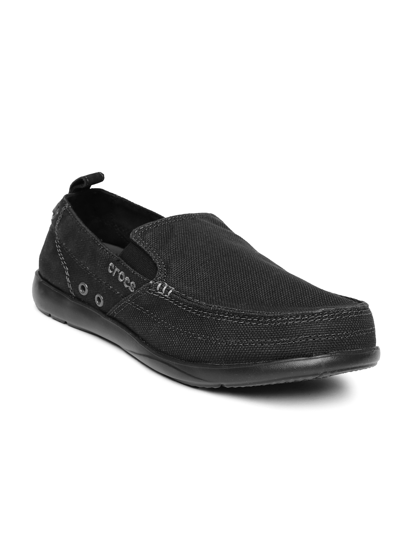 7558c4eb15ce31 Buy Crocs Men Black Walu Loafers - Casual Shoes for Men 1274810