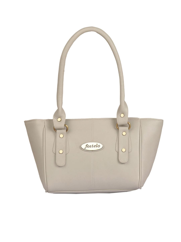 Fostelo Grey Solid Shoulder Bag