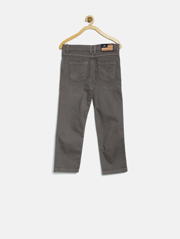 d8e9cf4d31 Buy U.S. Polo Assn. Kids Boys Taupe Jeans - Jeans for Boys 1280568 ...