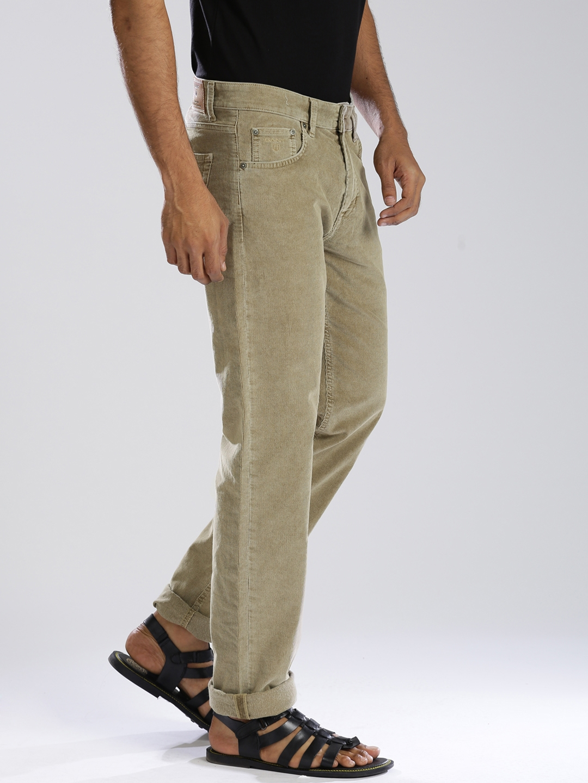 ea8764c7ffc9 Buy GANT Beige Tyler Fit Corduroy Trousers - Trousers for Men ...