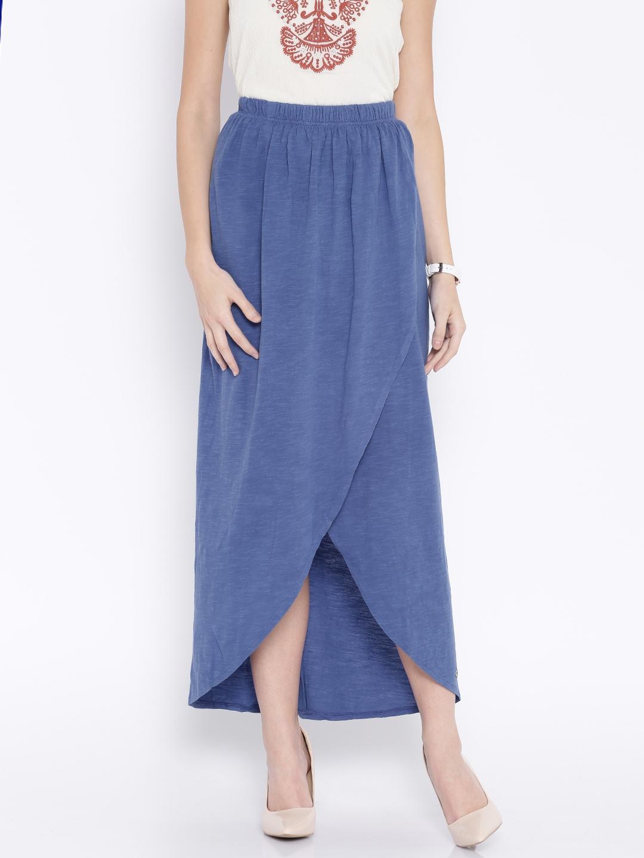 Buy Pepe Jeans Blue Tulip Skirt - Skirts for Women 1295161  c12b6dec1