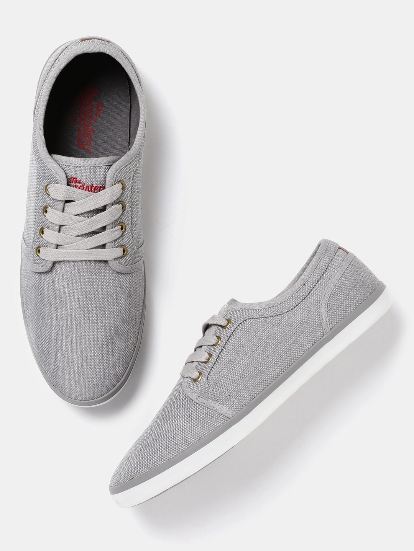 Buy Roadster Men Grey Casual Shoes