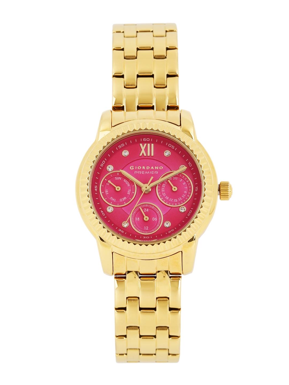GIORDANO Premier Women Pink Dial Watch P2045 22