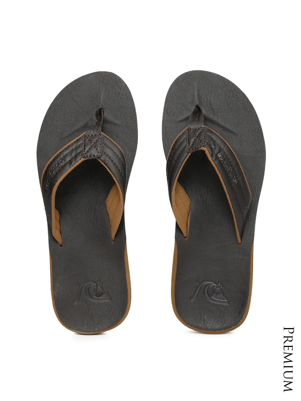 49bf2235fc8b8d Buy Quiksilver Men Brown Flip Flops - Flip Flops for Men 1318126 ...