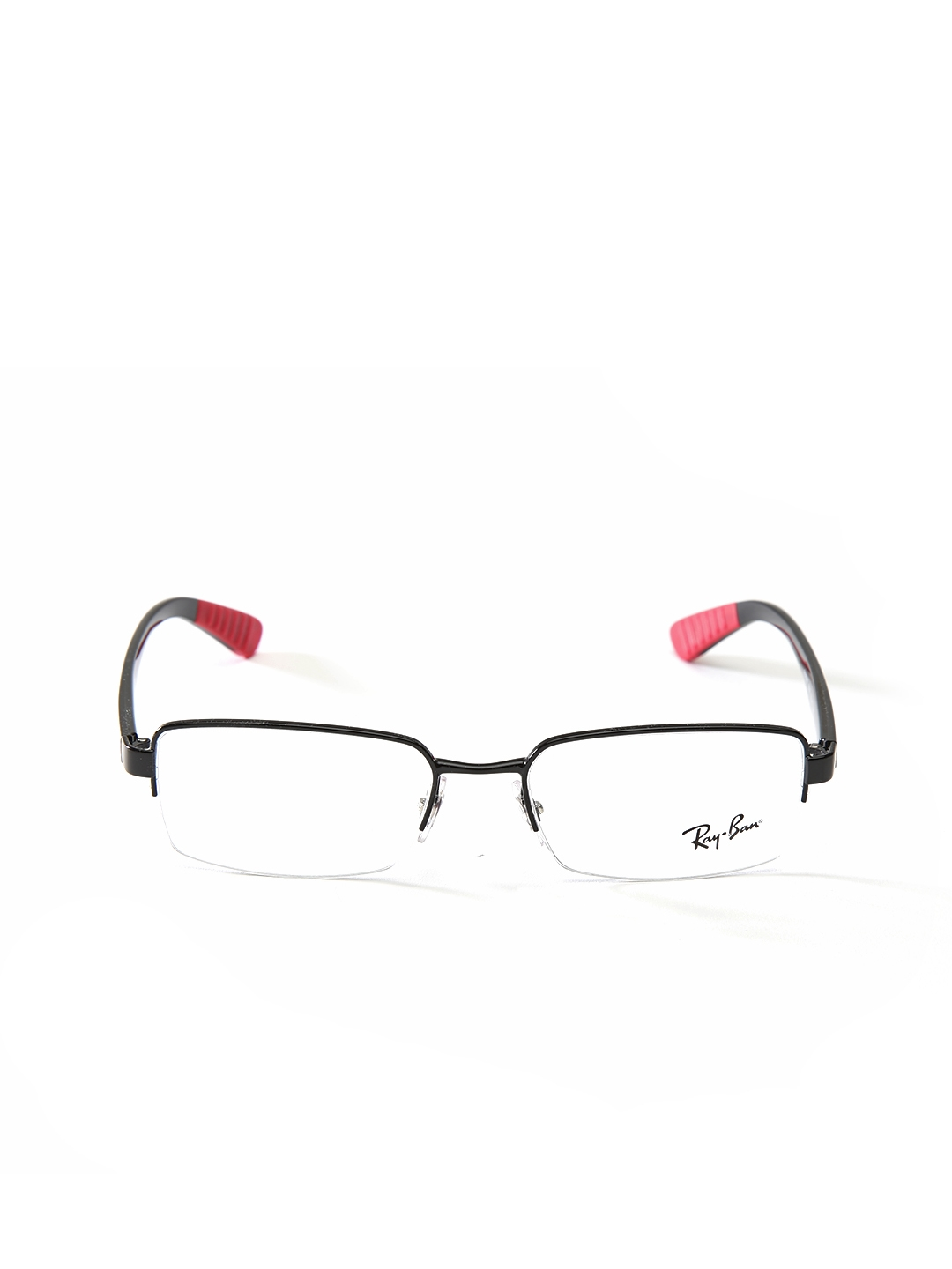 Buy Ray Ban Men Black Half Rim Rectangular Frames 0RX6367I250951 ...