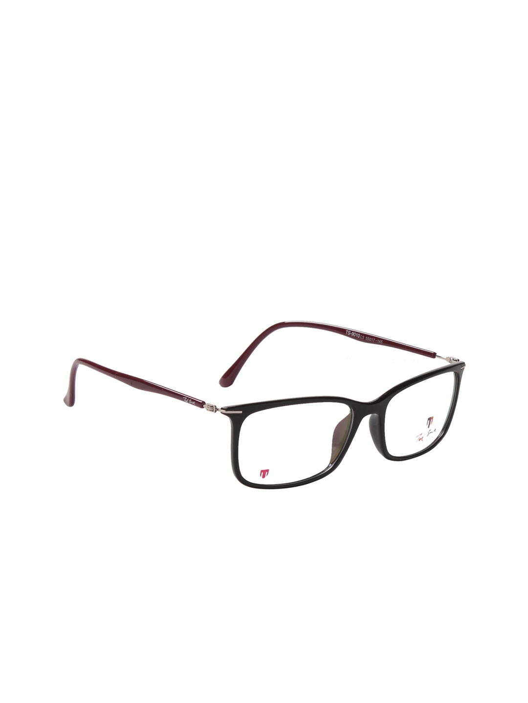 Buy Ted Smith Unisex Black Rectangular Frames TS9010_C5 - Frames for ...
