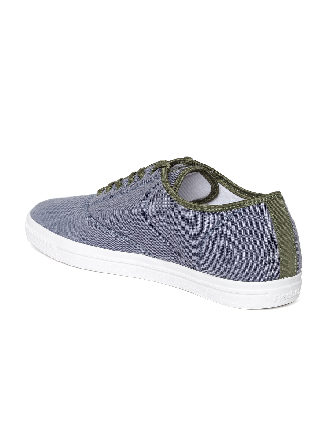 94fde481f072 Buy Reebok Classic Men Blue Tenstall Canvas Shoes - Casual Shoes for ...