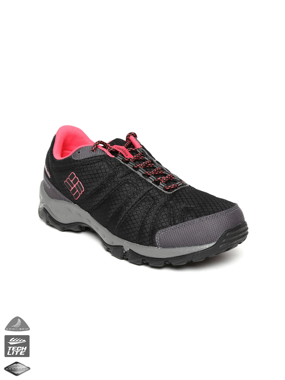 9d35a39da70f7 Buy Columbia Women Black Firecamp Waterproof Outdoor Sports Shoes ...
