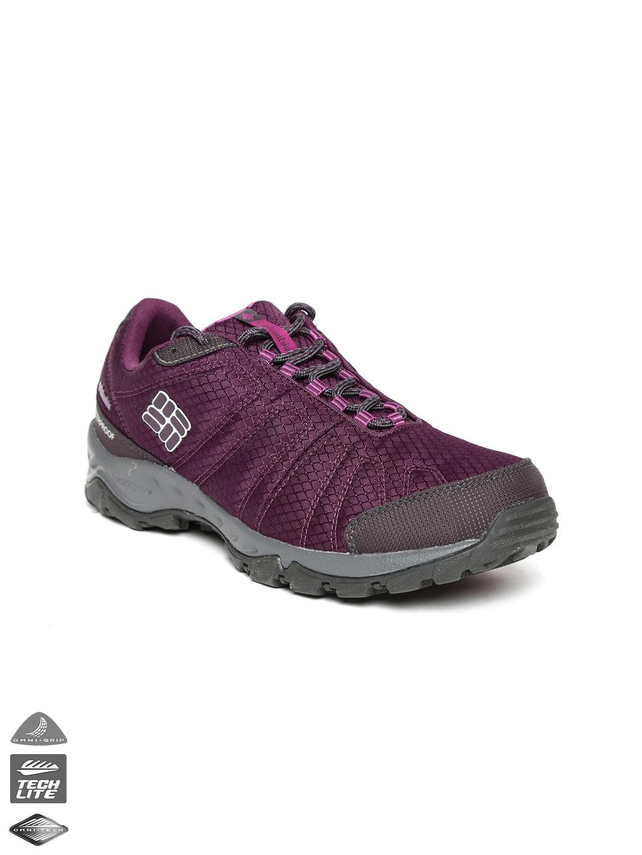 8e0fc1bb74296 Buy Columbia Women Purple Firecamp Waterproof Sports Shoes - Sports ...