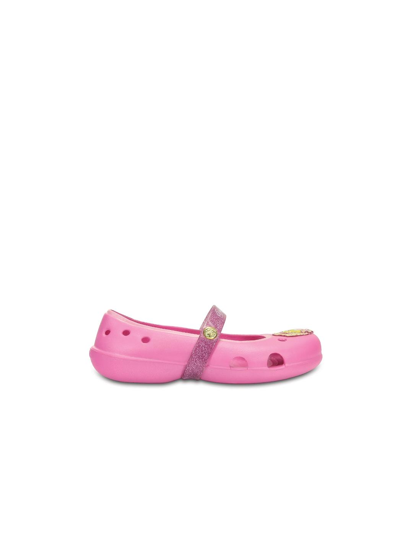 Buy Crocs Girls Pink Flat Shoes - Flats for Girls  c82bd6863