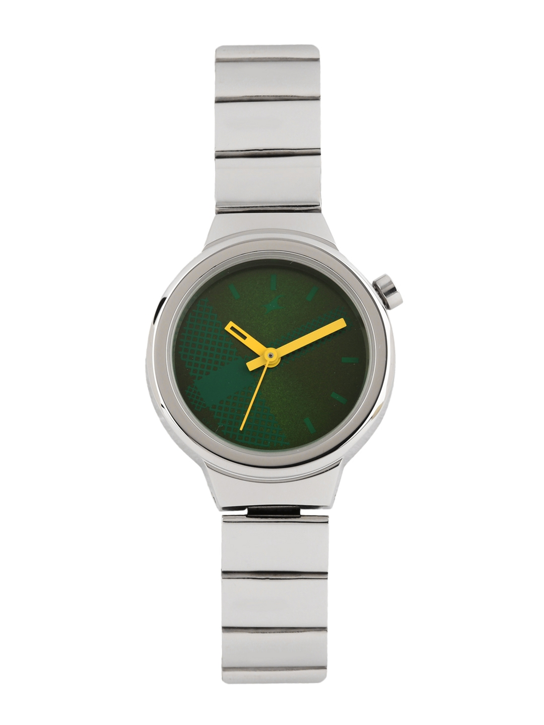 Fastrack Women Green Dial Watch 6149SM02