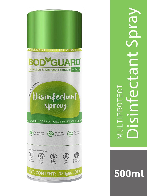 BOD GUARD Multipurpose Alcohol Based Disinfectant Sanitizer Spray   500 ml
