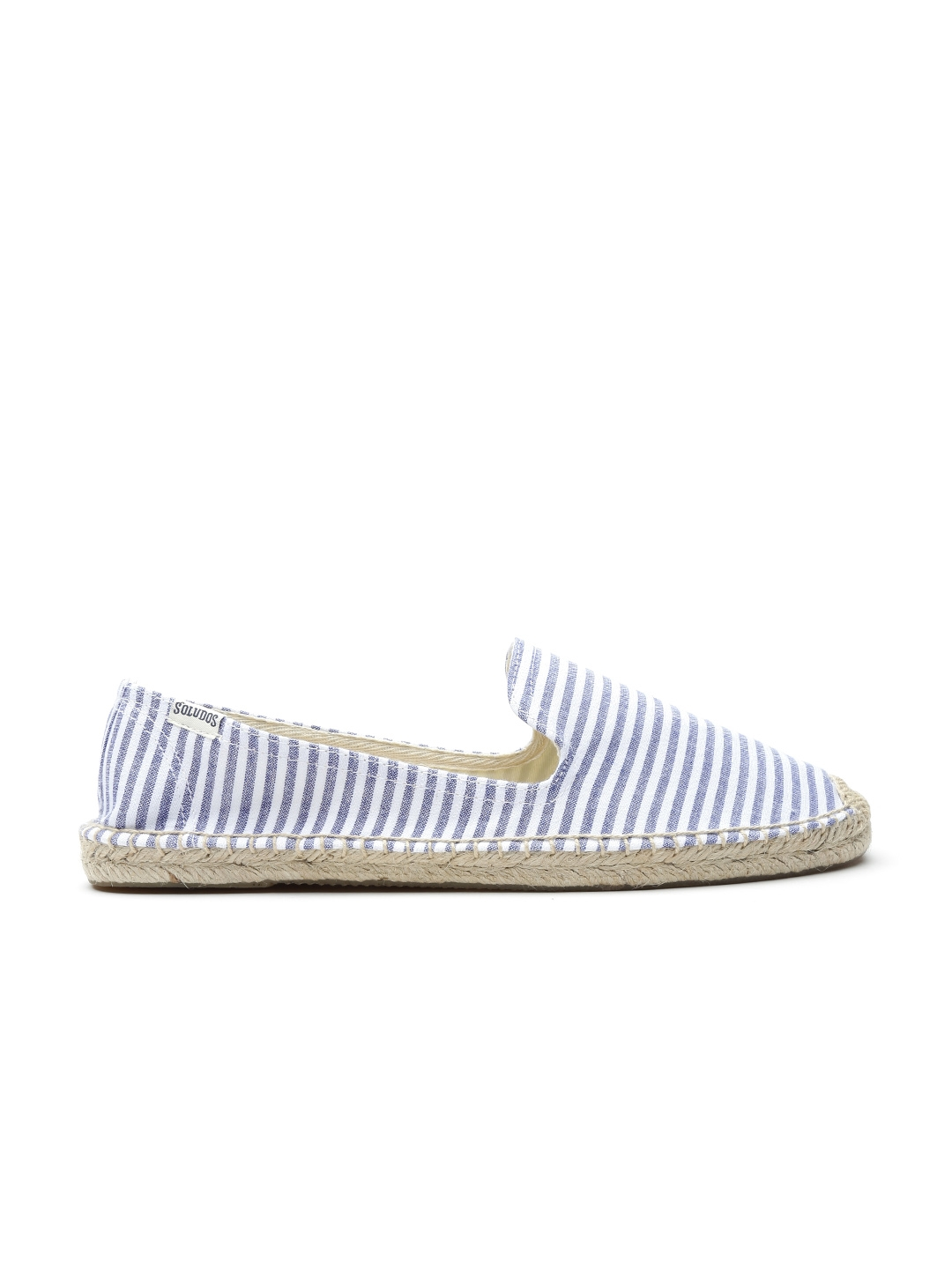 f84bcda27 Buy Soludos Women Blue & White Smoking Striped Espadrilles - Casual Shoes  for Women 1343939 | Myntra