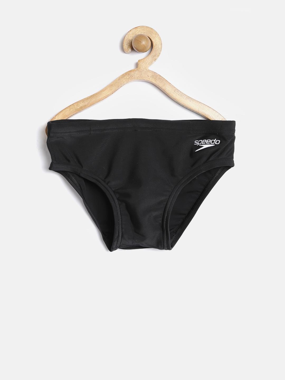 Speedo Boys Black Swimming Briefs 8061240001