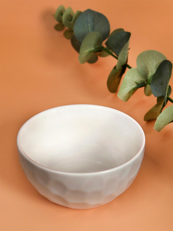 YOYOSO Set of 4 Blue Porcelain Bowls Set