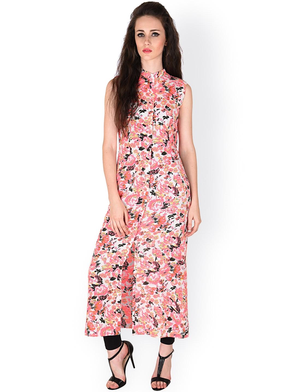 7ec211fecd1 Buy SASSAFRAS Pink Floral Print Maxi Top - Tops for Women 1351533 ...