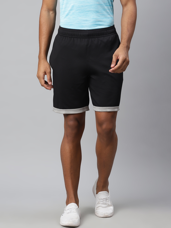 Reebok Men Black Solid WF Shorts