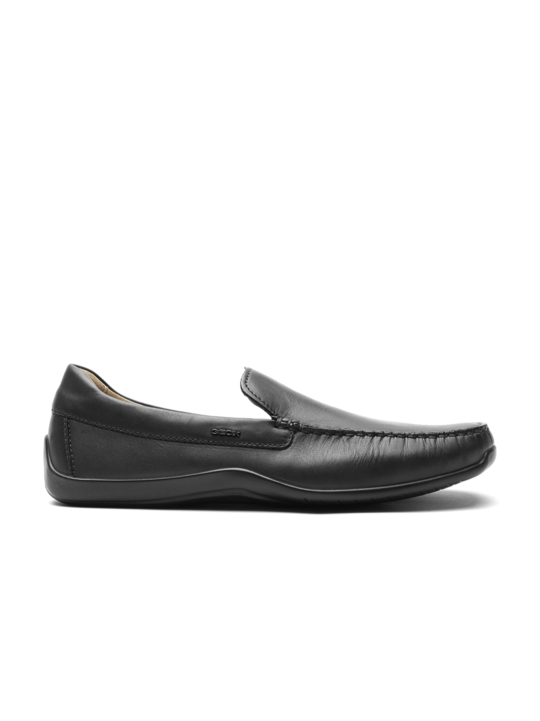 0741006cea30c Buy GEOX Respira Men Black Breathable Italian Patent Leather Loafers ...