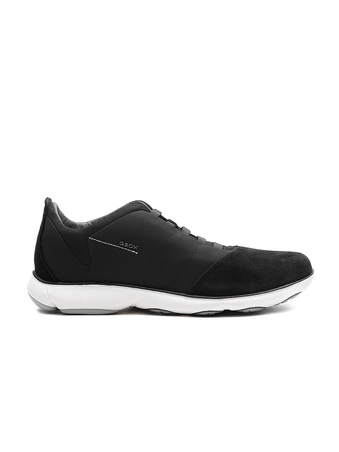 410fa802943 Buy GEOX Nebula Respira Men Black Casual Shoes - Casual Shoes for ...