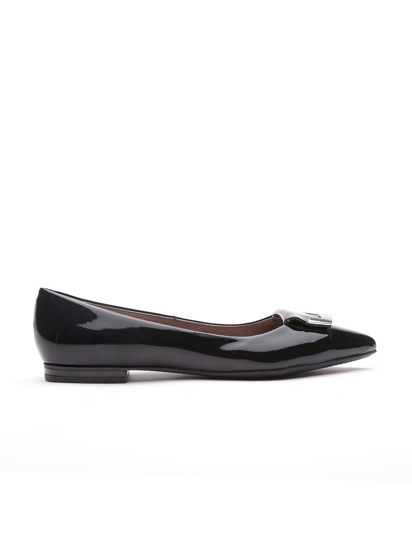 c42c3feac73 Buy GEOX Respira Women Black Italian Patent Leather Flat Shoes ...