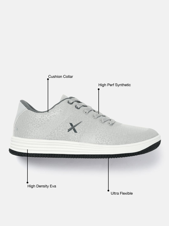 b1e435b97dc1 Buy HRX By Hrithik Roshan Men Board Life Grey Sneakers - Casual ...
