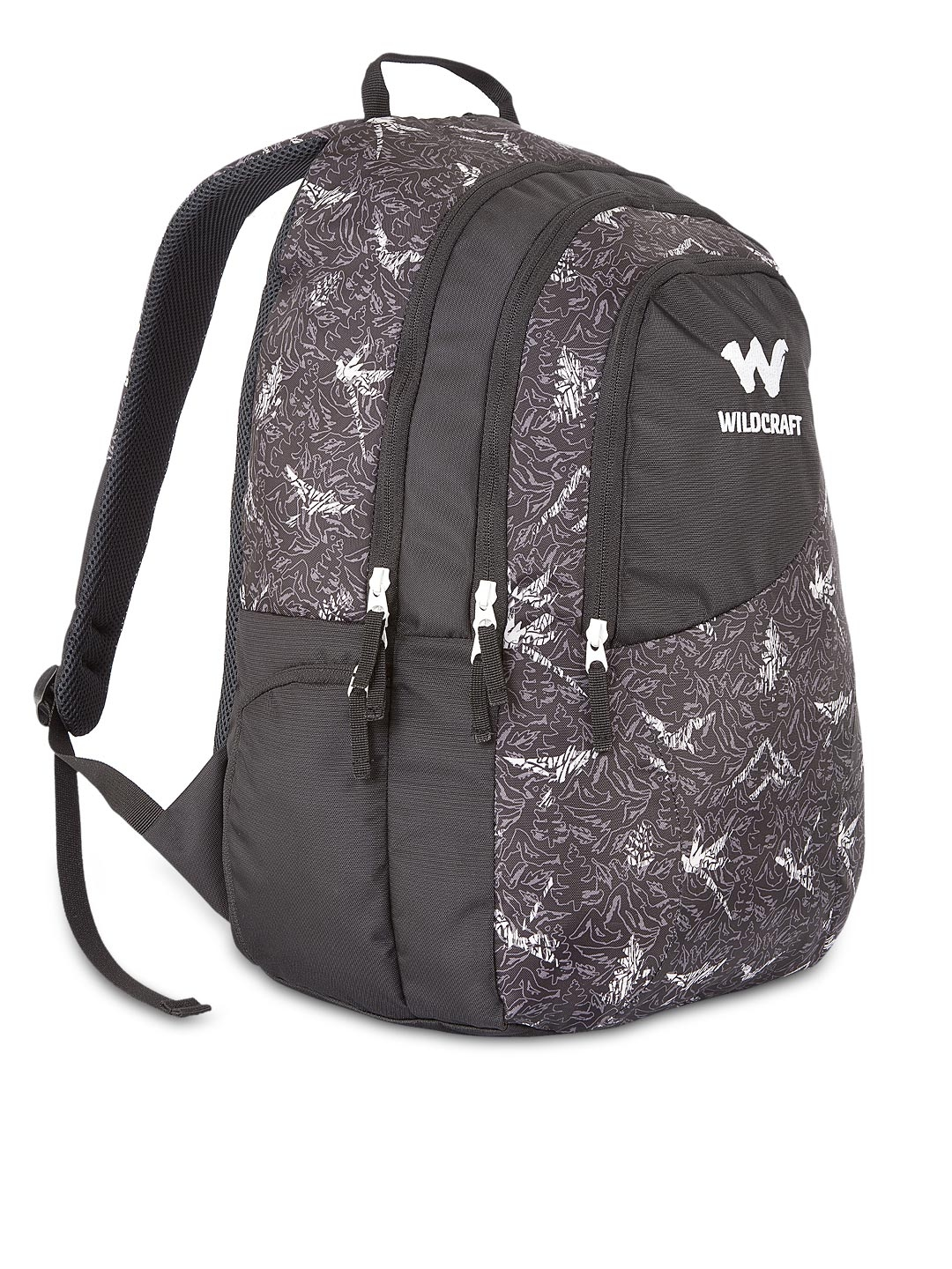 Buy Wildcraft Unisex Black Printed Backpack - Backpacks for Unisex ... 9697c9350434f