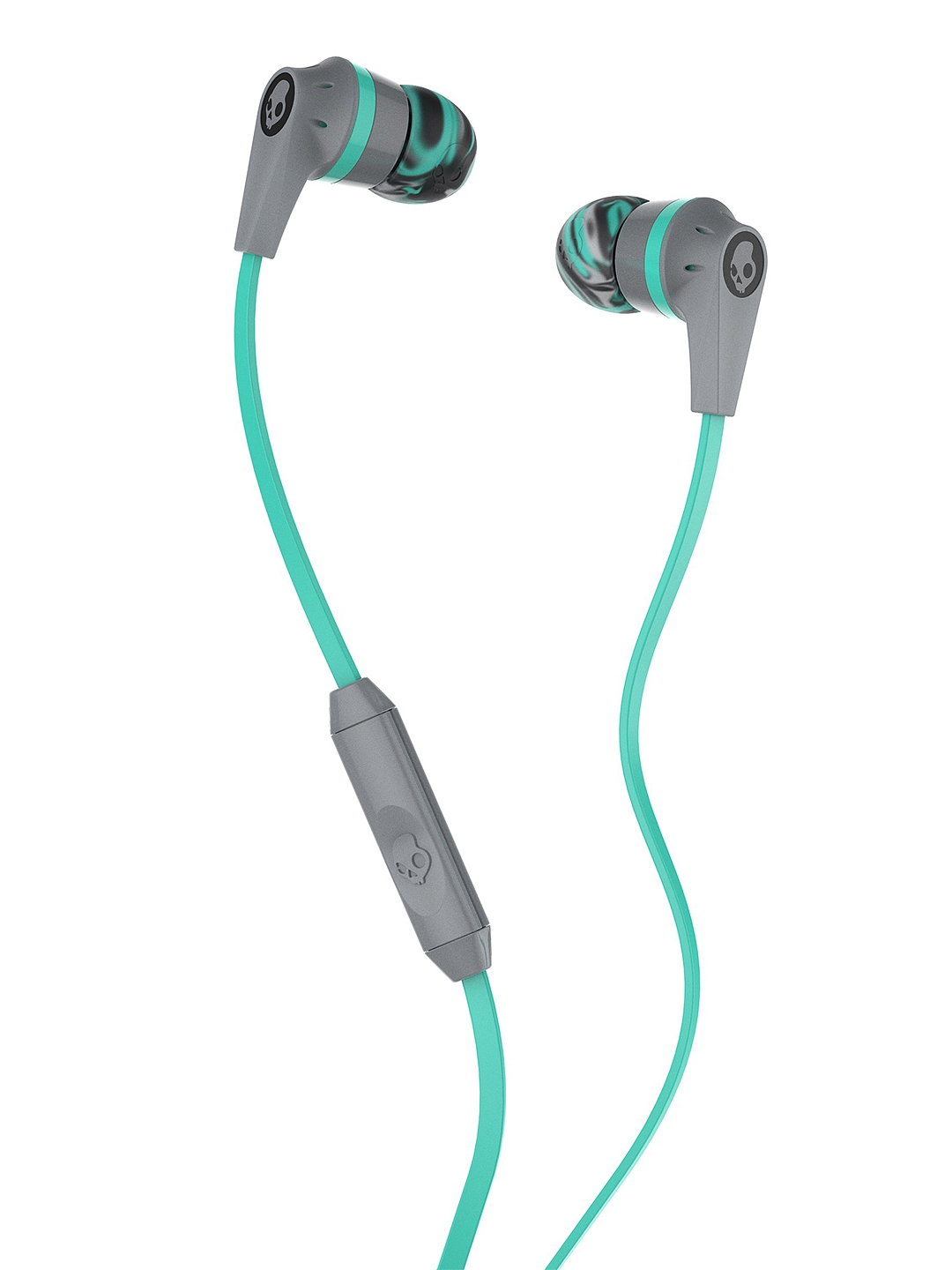 Skullcandy Blue Inkd 2.0 Earbuds with Mic