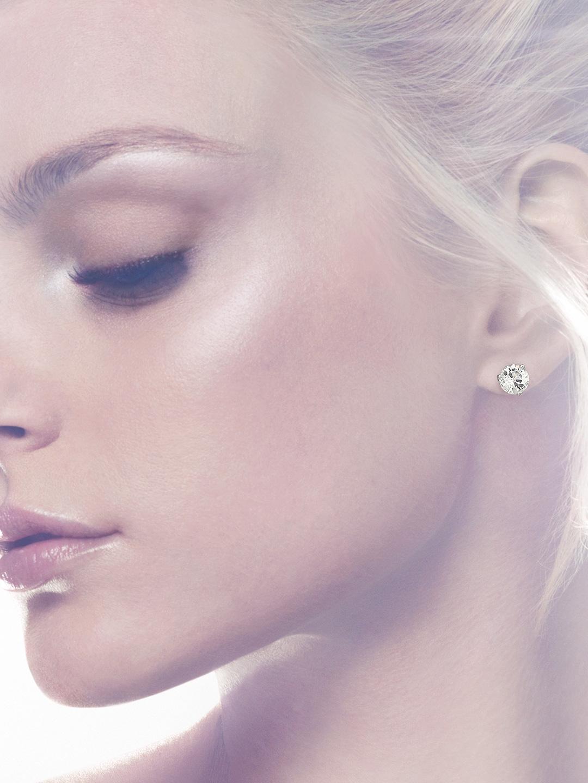 187efe88b Buy Solitaire Pierced Earrings - Earrings for Women 1369681 | Myntra
