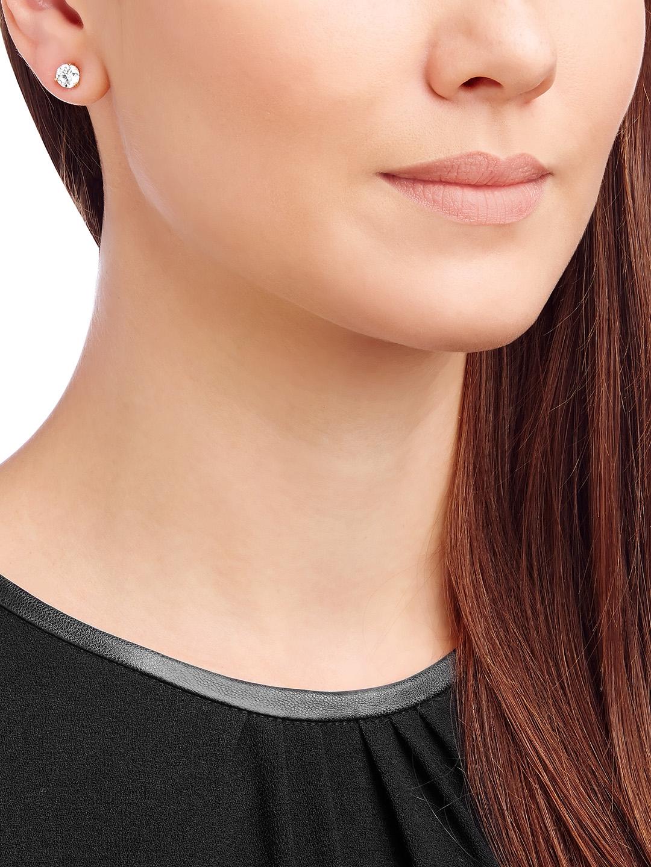 c76adf451 Buy SWAROVSKI Solitaire Pierced Earrings - Earrings for Women ...