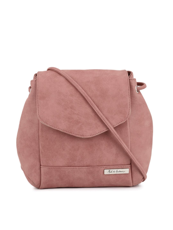 Buy Mast & Harbour Pink Backpack Cum Sling Bag - Handbags for ...