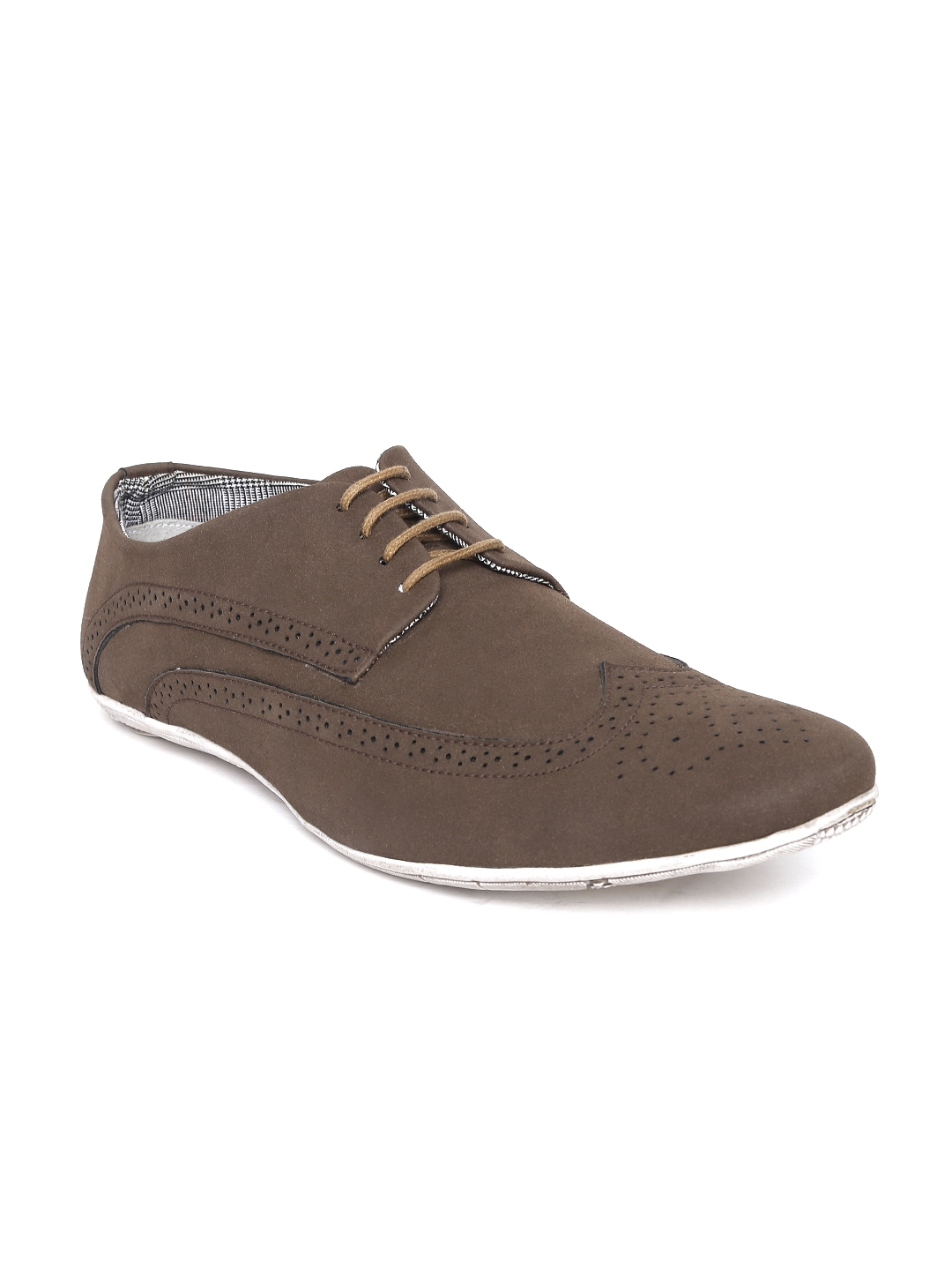 61a3dd3e930 Buy BCK By Buckaroo Men Brown Brogue Casual Shoes - Casual Shoes for ...