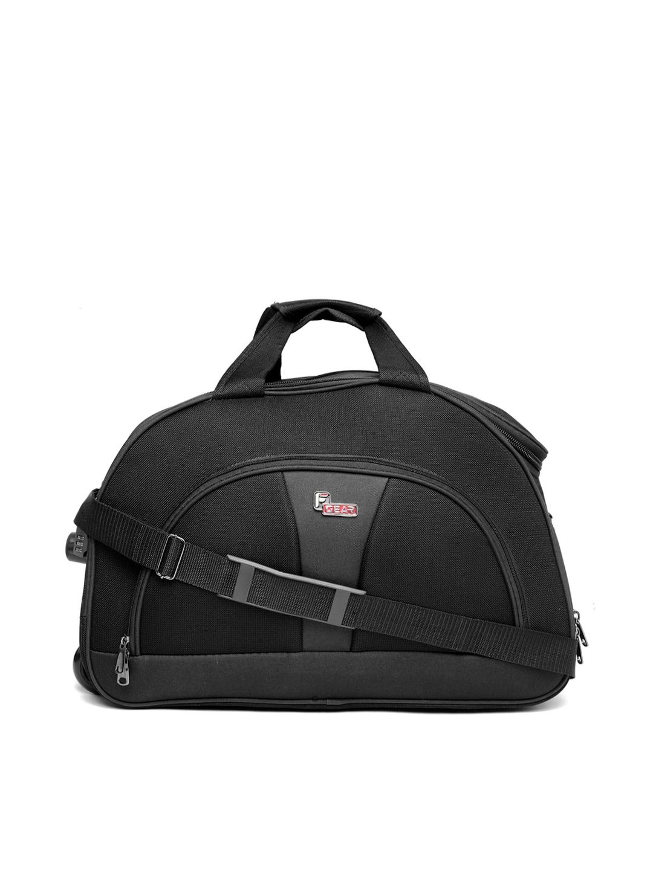F Gear Unisex Charcoal Grey Cooter Travel Trolley Duffel Bag