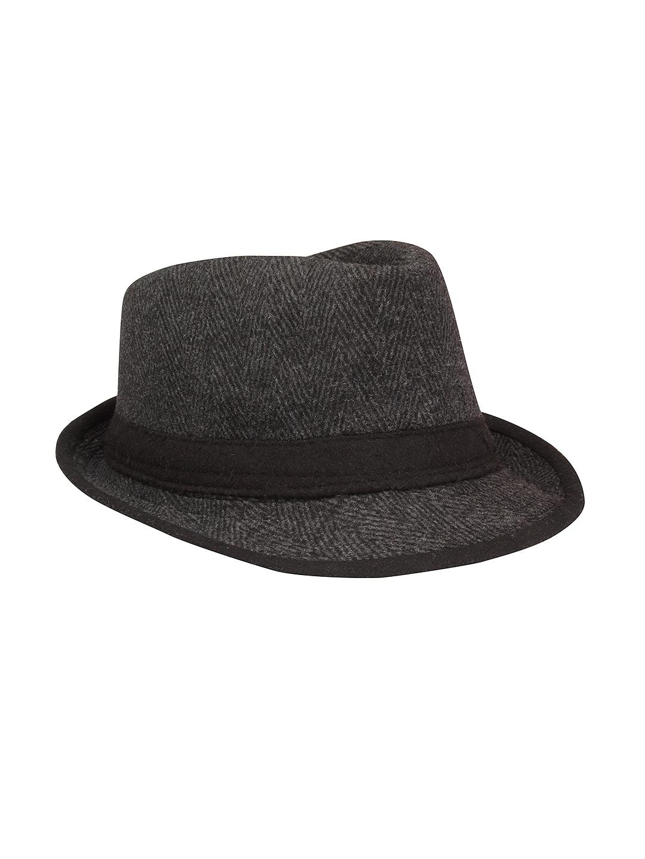 8860f9485b2 Buy FabSeasons Unisex Grey Fedora Hat - Hat for Unisex 1377049
