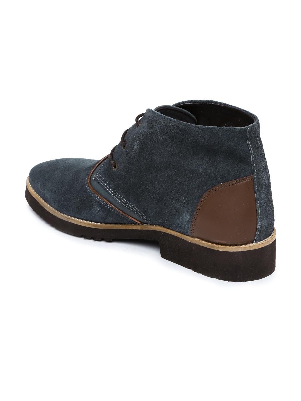 a81f73a9e1 Buy Van Heusen Men Navy Suede Derby Shoes - Casual Shoes for Men ...