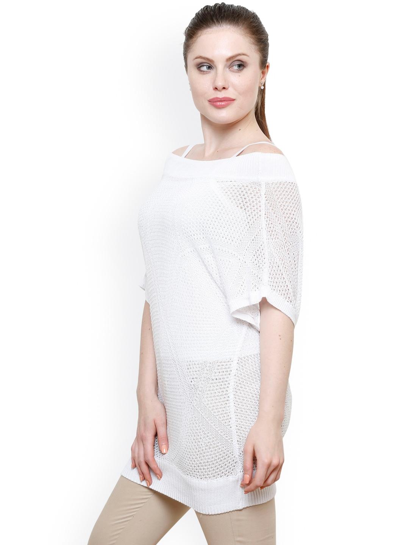 ec31536d51 Buy Renka White Crochet Top - Tops for Women 1381860