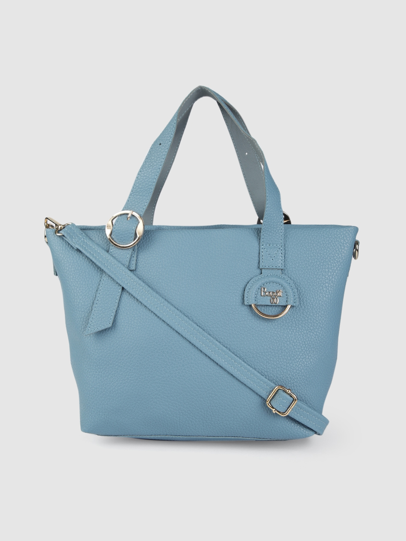 Baggit Blue Solid Shoulder Bag