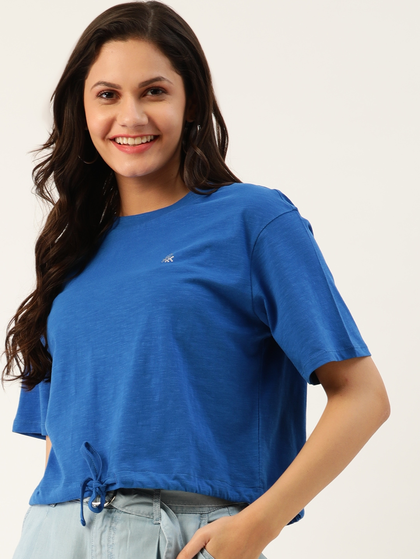 United Colors of Benetton Blue Regular Top