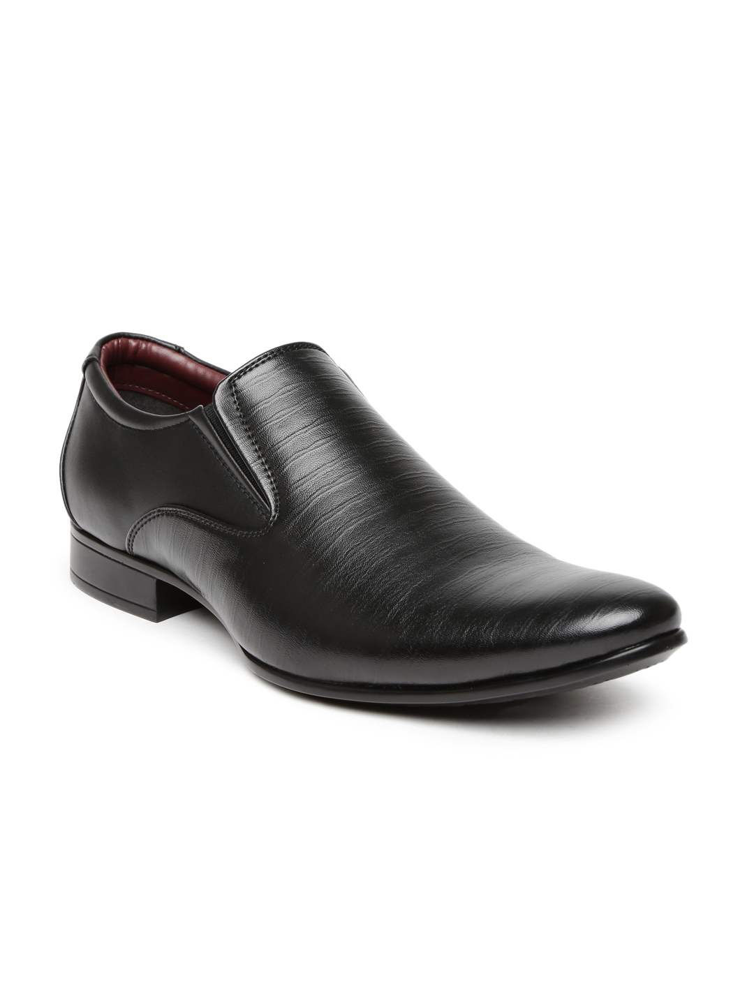buy bata black viktor formal shoes formal shoes for