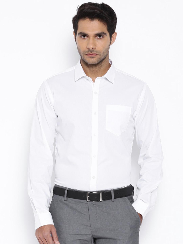 0ccf54d54526 Buy Black Coffee White Slim Fit Formal Shirt - Shirts for Men ...