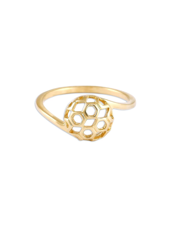 Mia by Tanishq 14KT Yellow Gold Precious Ring