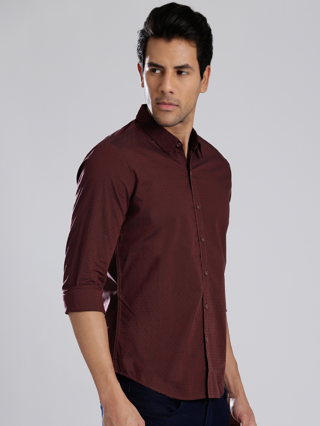afbb71cfc4 Buy Levi s Maroon Casual Shirt - Shirts for Men 1393671