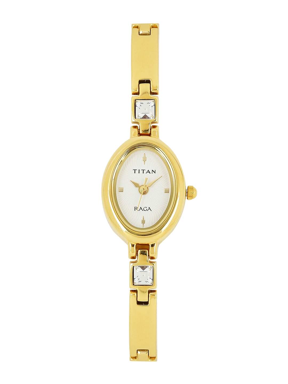 Titan Raga Women White Dial Watch NF9717YM01J