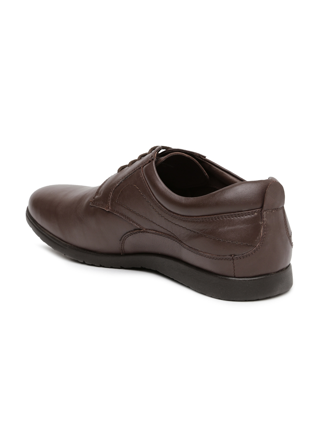 7160bd409e9 Buy Hush Puppies Men Brown Leather Derby Shoes - Formal Shoes for ...