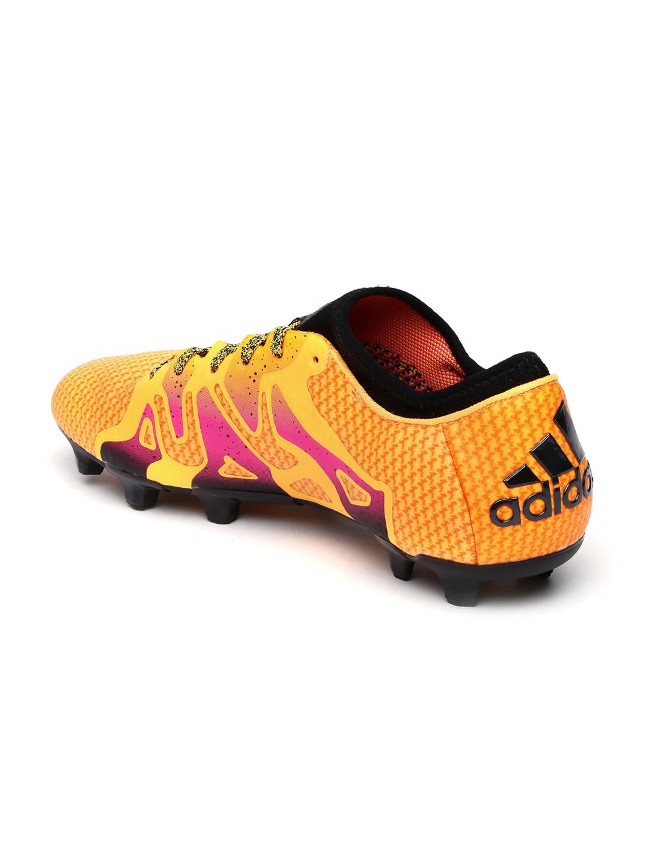 3b062e769 Buy ADIDAS Men Orange X 15+ Primeknit FG/AG Printed Football Shoes ...