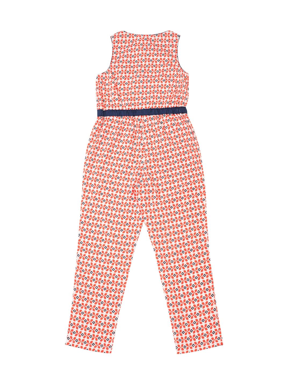 2878d21fb70 Buy Nauti Nati Girls Orange Printed Polyester Jumpsuit - Jumpsuit ...