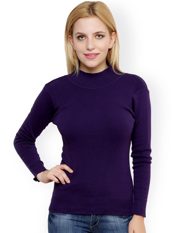 a2fd4beda5 Buy Renka Navy Sweater - Sweaters for Women 1402568