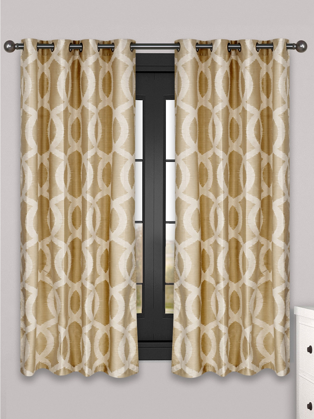 Patterned Window Curtains