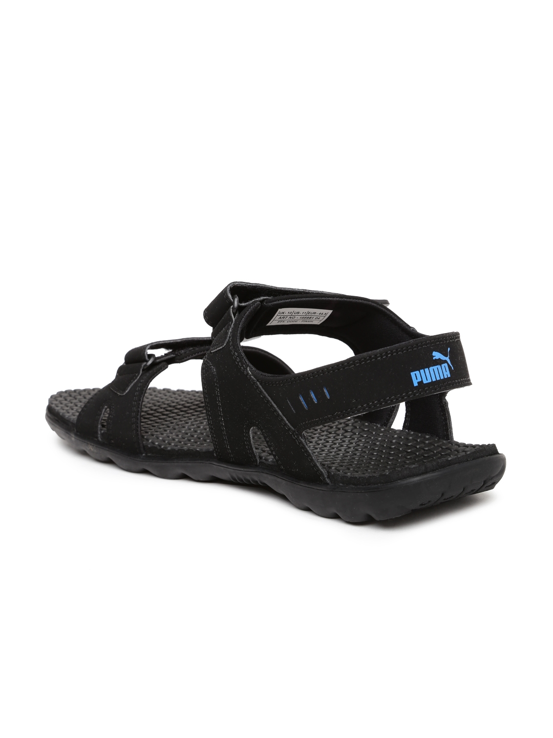 Buy PUMA Men Black Silicis Buck DP Sports Sandals - Sports Sandals ... 3de6bbcedf