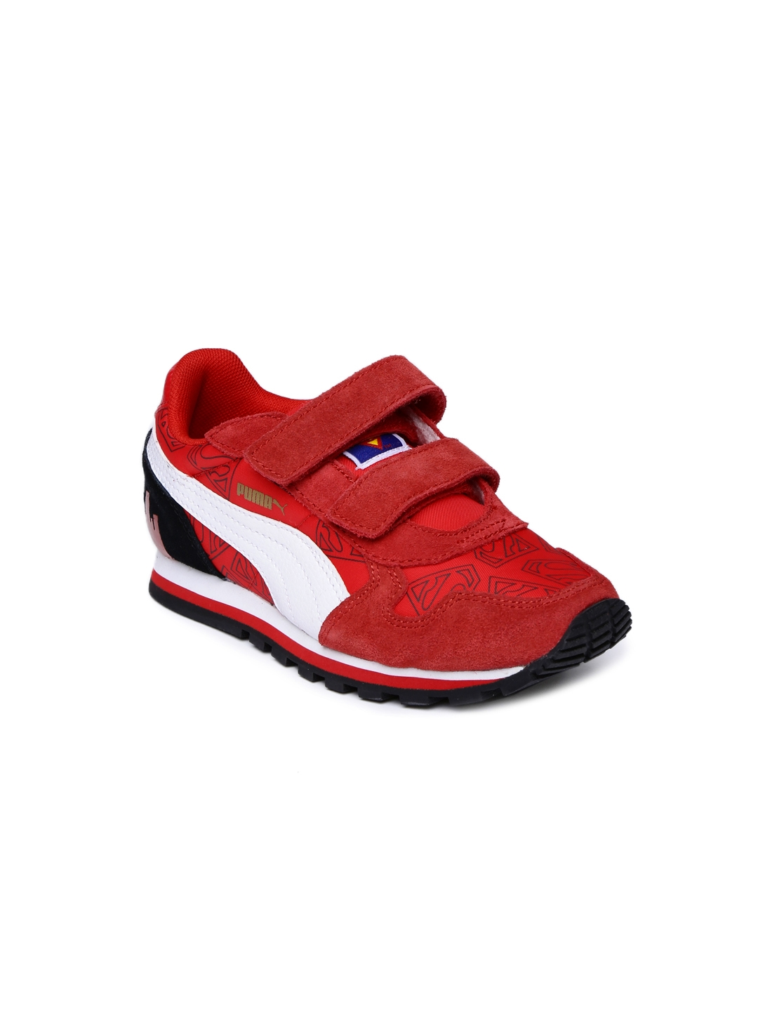 daaa8b4644633c Buy PUMA Kids Red Superman Print Running Shoes - Sports Shoes for ...