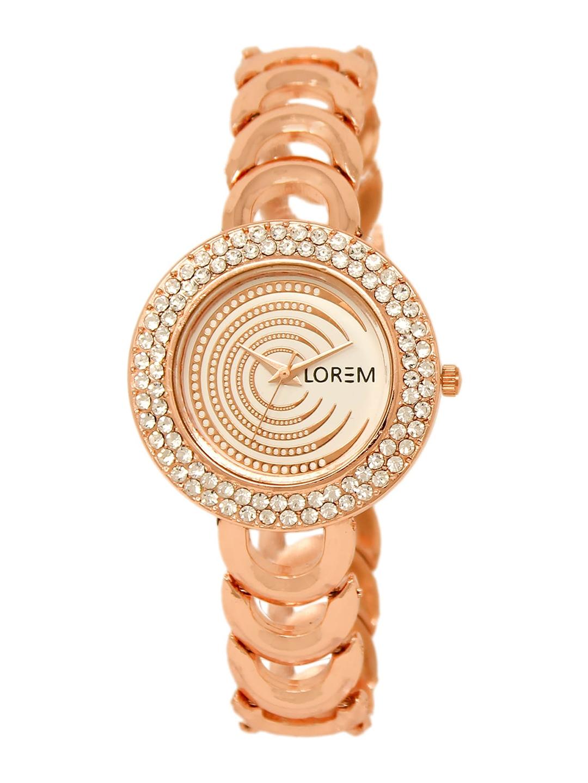 LOREM Women Rose Gold Analogue Watch LR202